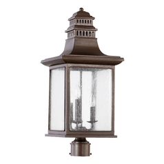 Quorum Lighting Magnolia Oiled Bronze Post Light
