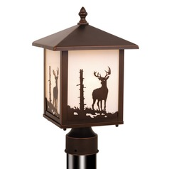 Bryce Burnished Bronze Post Light by Vaxcel Lighting
