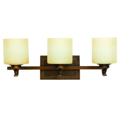Jeremiah Montreal Metropolitan Bronze Bathroom Light