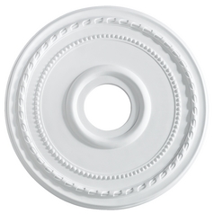 Quorum Lighting Studio White Ceiling Medallion