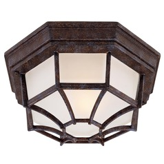 Savoy House Rustic Bronze Close To Ceiling Light