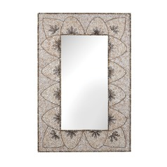 Flower Arc Shell Mirror