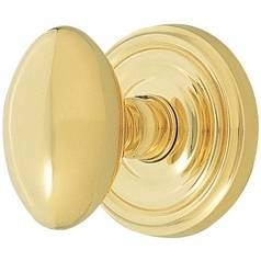 Oval Knob Privacy Latchset