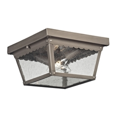 Cornerstone Lighting Springfield Antique Nickel Close To Ceiling Light
