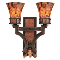 Kalco Lighting Marlowe Antique Copper Sconce