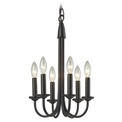 Elk Lighting Chandette Oil Rubbed Bronze Mini-Chandelier