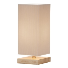 Adesso Home Lighting Angelina Natural Accent Lamp