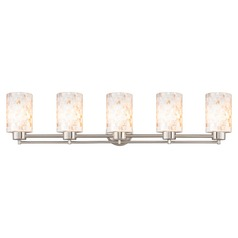 Design Classics Salida Fuse Satin Nickel Bathroom Light