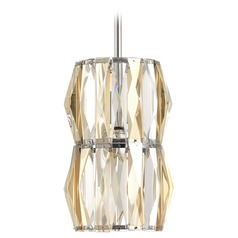 Progress Lighting the Pointe Polished Chrome Mini-Pendant Light