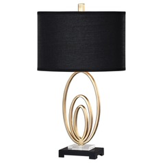 Uttermost Trigolo Bright Gold Lamp