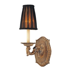 Metropolitan Lighting French Reproduction Sconce Wall Light with Lost Wax Casting N2180-473