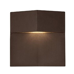 Modern Espresso LED Outdoor Wall Light 3000K 283LM
