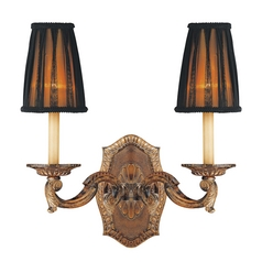 Metropolitan Lighting Old World French Reproduction Sconce Light with Lost Wax Casting N2181-473