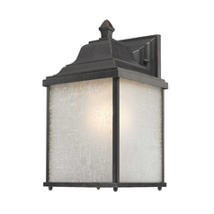 Colonial Style Outdoor Wall Lantern - 13-Inches Tall