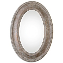 Uttermost Cibiana Oval Metal Mirror