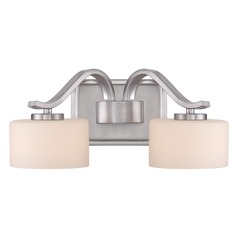 Quoizel Lighting Devlin Brushed Nickel Bathroom Light
