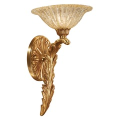 Metropolitan Lighting French Gold Sconce