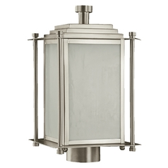 Quorum Lighting Shoreham Satin Nickel Post Light