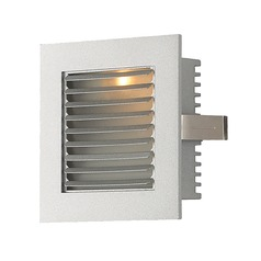 Alico Lighting Steplight Xenon Grey Recessed Step Light