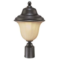 Dolan Designs Lighting 17-3/4-Inch Fluorescent Outdoor Post Light 9729-68