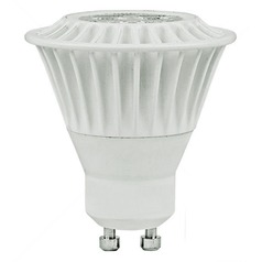 TCP Lighting Dimmable LED GU10 MR16 7-Watt Light Bulb LED7GU10MR1630KFL