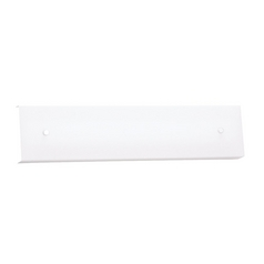 Modern Flushmount Light with White in White Finish