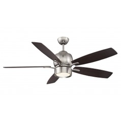 Savoy House Lighting Girard Satin Nickel LED Ceiling Fan with Light
