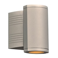 Plc Lighting Lenox-I Silver LED Outdoor Wall Light