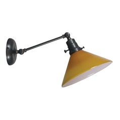 House Of Troy Otis Oil Rubbed Bronze Wall Lamp