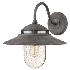 Hinkley Lighting Atwell Aged Zinc Outdoor Wall Light