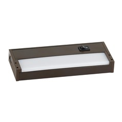 Sea Gull Lighting Vivid LED Undercabinet Painted Antique Bronze 7.5-Inch LED Under Cabinet Light