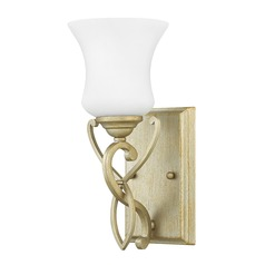 Silver Leaf Wall Sconce by Hinkley Lighting