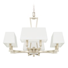 Capital Lighting Westbrook Winter Gold Chandelier