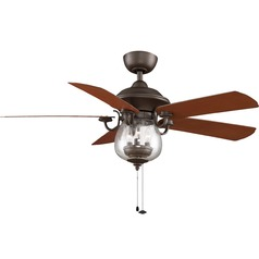 Fanimation Fans Crestford Oil-Rubbed Bronze Ceiling Fan with Light