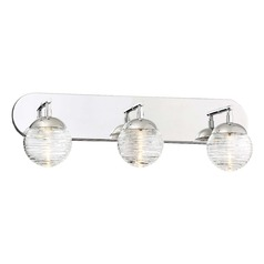 George Kovacs Vemo Polished Nickel LED Bathroom Light