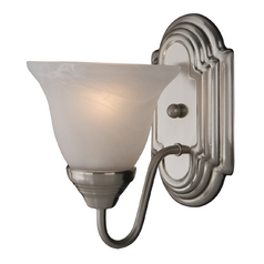 Maxim Lighting Essentials Satin Nickel Sconce