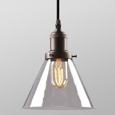 Galaxy Bronze Vintage Mini-Pendant Light