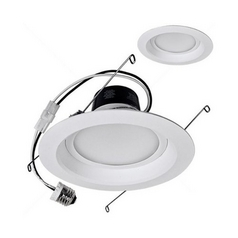 TCP Lighting Dimmable LED Retrofit 6-Inch Recessed Trim - 14-Watts Total LED14DR5627K