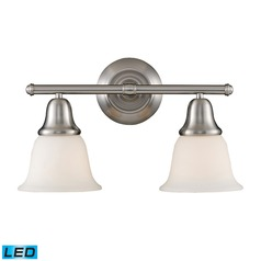 Elk Lighting Berwick Brushed Nickel LED Bathroom Light