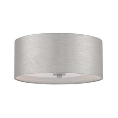Lite Source Lighting Silvain Chrome Flushmount Light