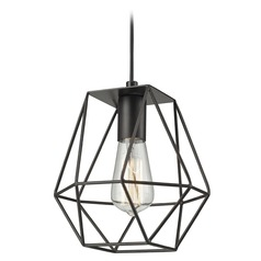 Elk Lighting Delaney Oil Rubbed Bronze Mini-Pendant Light