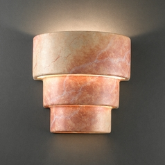 Outdoor Wall Light in Agate Marble Finish