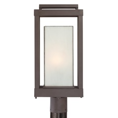 Quoizel Powell Western Bronze Post Light