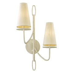 Troy Lighting Marcel Gesso White Sconce