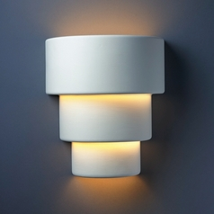 Outdoor Wall Light in Bisque Finish
