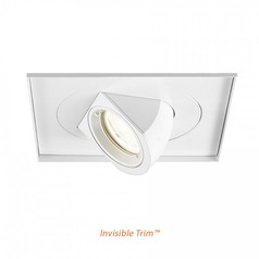 WAC Lighting Tesla White LED Recessed Trim