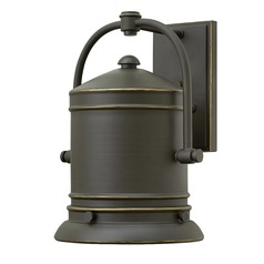 Hinkley Lighting Pullman Oil Rubbed Bronze Outdoor Wall Light