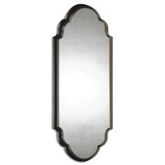 Uttermost Lamia Curved Metal Mirror