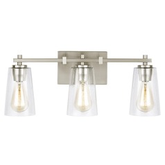 Feiss Lighting Mercer Satin Nickel Bathroom Light