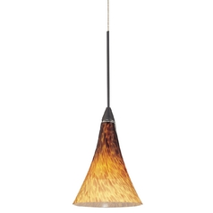 Art Glass Mini-Pendant Light